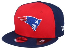 Kids New England Patriots Character Front 9Fifty Red/Navy Snapback - New Era
