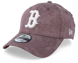 Boston Red Sox Engineered Plus Dark Maroon/White Adjustable - New Era