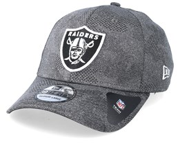 Oakland Raiders Engineered Plus Dark Grey Flexfit - New Era