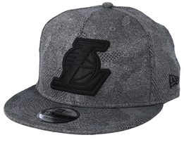LA Lakers 9 Gigty Engineered Plus Dark Grey/Black Snapback - New Era