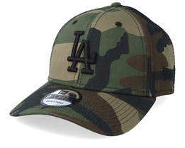Los Angeles Dodgers Camo Essential 9Forty Camo/Black Adjustable - New Era