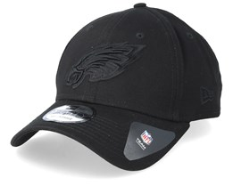 Philadelphia Eagles 9Forty Black/Black Adjustable - New Era