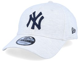New York Yankees 9Forty Jersey Essential White Granite/Navy Adjustable - New Era