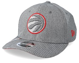 Toronto Raptors Training Series 9Fifty Stretch-Snap Dark Grey/Red Snapback - New Era