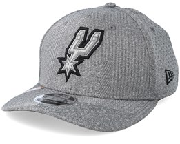 San Antonio Spurs Training Series 9Fifty Stretch-Snap Dark Grey/Black Snapback - New Era
