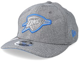 Oklahoma City Thunder Training Series 9Fifty Stretch-Snap Dark Grey/Blue Snapback - New Era