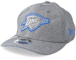 Oklahoma City Thunder Training Series 9Fifty Stretch-Snap Dark Grey/Blue Snapback - New Era