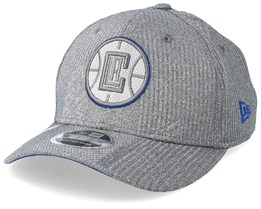 LA Clippers Training Series 9Fifty Stretch-Snap Dark Grey/Blue Snapback - New Era