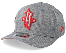 Houston Rockets Training Series 9Fifty Stretch-Snap Dark Grey/Red Snapback - New Era