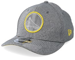 Golden State Warriors Training Series 9Fifty Stretch-Snap Dark Grey/Yellow Snapback - New Era