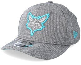Charlotte Hornets Training Series 9Fifty Stretch-Snap Dark Grey/Teal Snapback - New Era