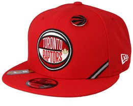3a42e0f9e Toronto Raptors 19 NBA 9Fifty Draft Red Snapback - New Era