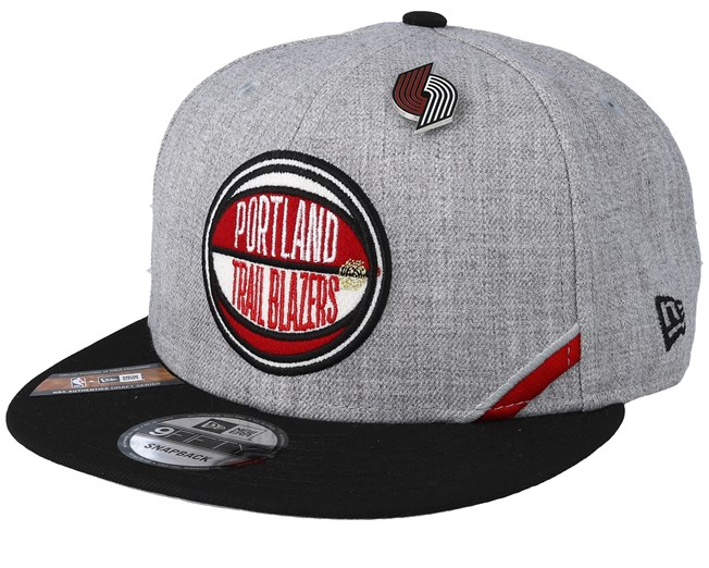 finest selection 40047 1f380 Portland Trail Blazers 19 NBA 9Fifty Draft Heather Grey Black Snapback - New  Era caps - Hatstoreworld.com