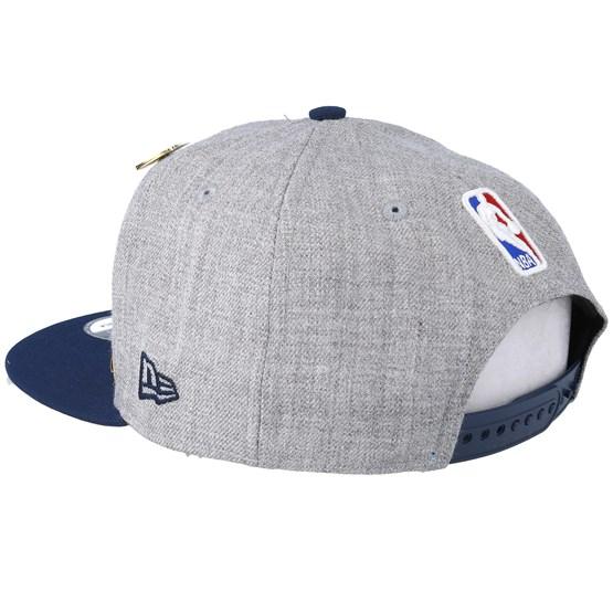 new styles d4280 e9fb5 New Orleans Pelicans 19 NBA 9Fifty Draft Heather Grey Navy Snapback - New  Era caps - Hatstoreworld.com
