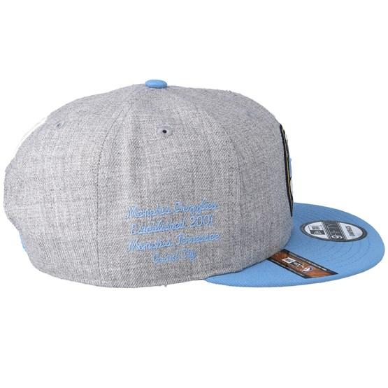 best authentic dc259 56be4 Memphis Grizzlies 19 NBA 9Fifty Draft Heather Grey Light Blue Snapback - New  Era caps - Hatstoreworld.com