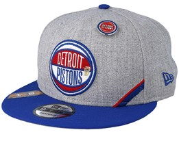 Detroit Pistons 19 NBA 9Fifty Draft Heather Grey/Royal Snapback  - New Era