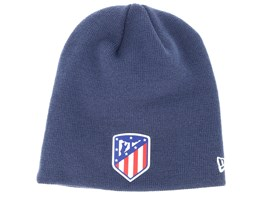 Atlético Madrid Fall 19 Skull Knitt Navy Beanie - New Era