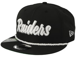 Oakland Raiders On Field 19 9FIfty 1960 Black/White Snapback - New Era