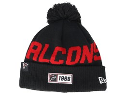 Atlanta Falcons On Field 19 Sport Knit Black/Red Pom - New Era