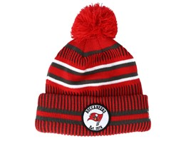 Tampa Bay Buccaneers On Field 19 Sport Knit Red/Charcoal Pom - New Era