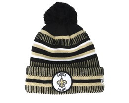 New Orleans Saints On Field 19 Sport 2 Black Beige Pom New Era