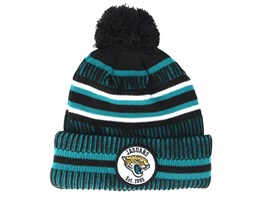 Jacksonville Jaguars On Field 19 Sport Knit 2 Teal/Black Pom - New Era
