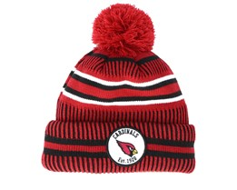 Arizona Cardinals On Field 19 Sport Knit Red/Black Pom - New Era