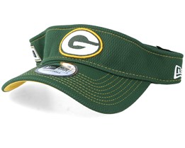Green Bay Packers On Field 19 Green Visor - New Era