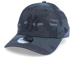 New York Yankees 9Forty League Essential Black Camo Adjustable - New Era