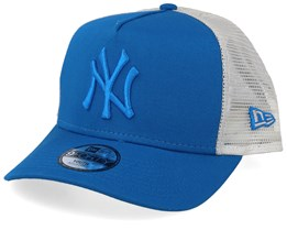 Kids New York Yankees League Essential Blue/Blue/light Grey Trucker - New Era
