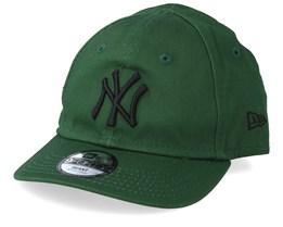 Kids New York Yankees Infant  League Essential 9Forty  Green/Black Adjustable - New Era