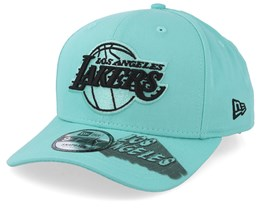 LA Lakers Hard Neon 9Fifty Light Blue Snapback - New Era