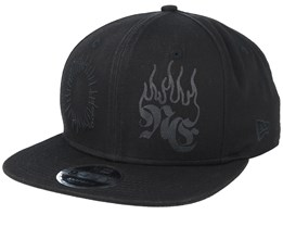 Hard Bootleg 9Fifty Black/Black Snapback - New Era