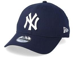 Kids New York Yankees Chambray League Navy/White Adjustable - New Era