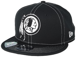 Washington Redskins NFL 19 9Fifty Black/White Snapback - New Era
