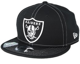 Oakland Raiders NFL 19 9Fifty Black/White Snapback - New Era