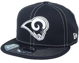 Los Angeles Rams NFL19 9Fifty Black Snapback - New Era