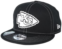 Kansas City Chiefs NFL 19 9Fifty Black/White Snapback - New Era