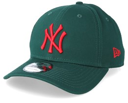 New York Yankees 9Forty Dark Green/Scarlet Adjustable - New Era