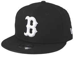 Kids Boston Red Sox League Essential 9Forty Black/White Snapback - New Era
