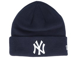 New York Yankees Essential Knit Navy/White Cuff - New Era