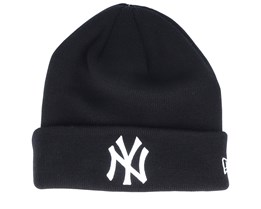 New York Yankees Essential Knit Black/White Cuff - New Era