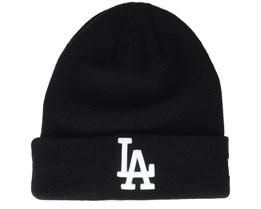 Los Angeles Dodgers MLB Essential Knit Black Cuff - New Era