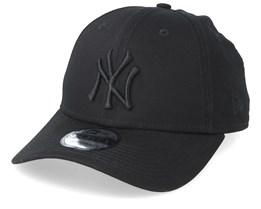 New York Yankees 9Forty Snapback Black/Black Adjustable - New Era