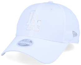Los Angeles Dodgers Women MLB Nylon 9Forty White Adjustable - New Era