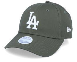 Los Angeles Dodgers League Essential Womens 9Forty November Green/White Adjustable - New Era