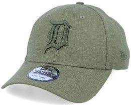 Detroit Tigers Winterized The League Olive/Olive Adjustable - New Era