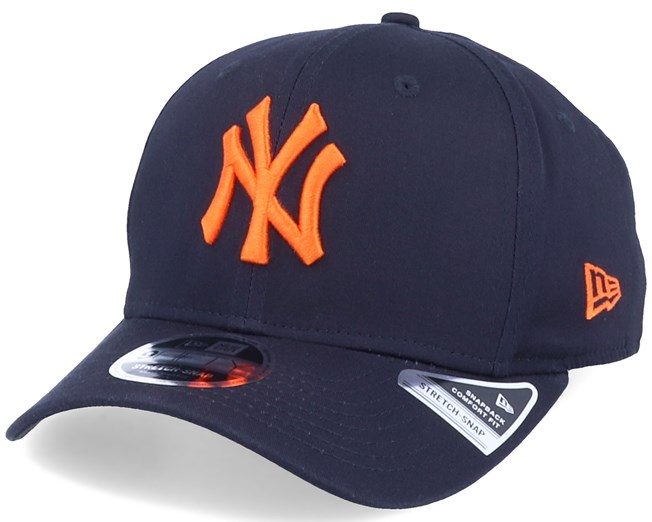 New York Yankees Tonal Stretch 9Fifty Navy/Orange Adjustable - New Era