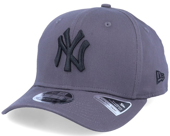 New York Yankees Tonal Stretch 9Fifty Grey/Black Adjustable - New Era