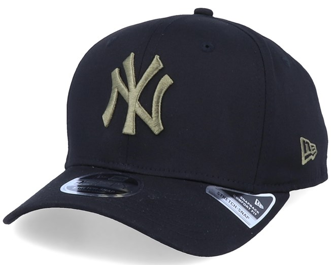 New York Yankees Tonal Stretch 9Fifty Black/Olive Adjustable - New Era